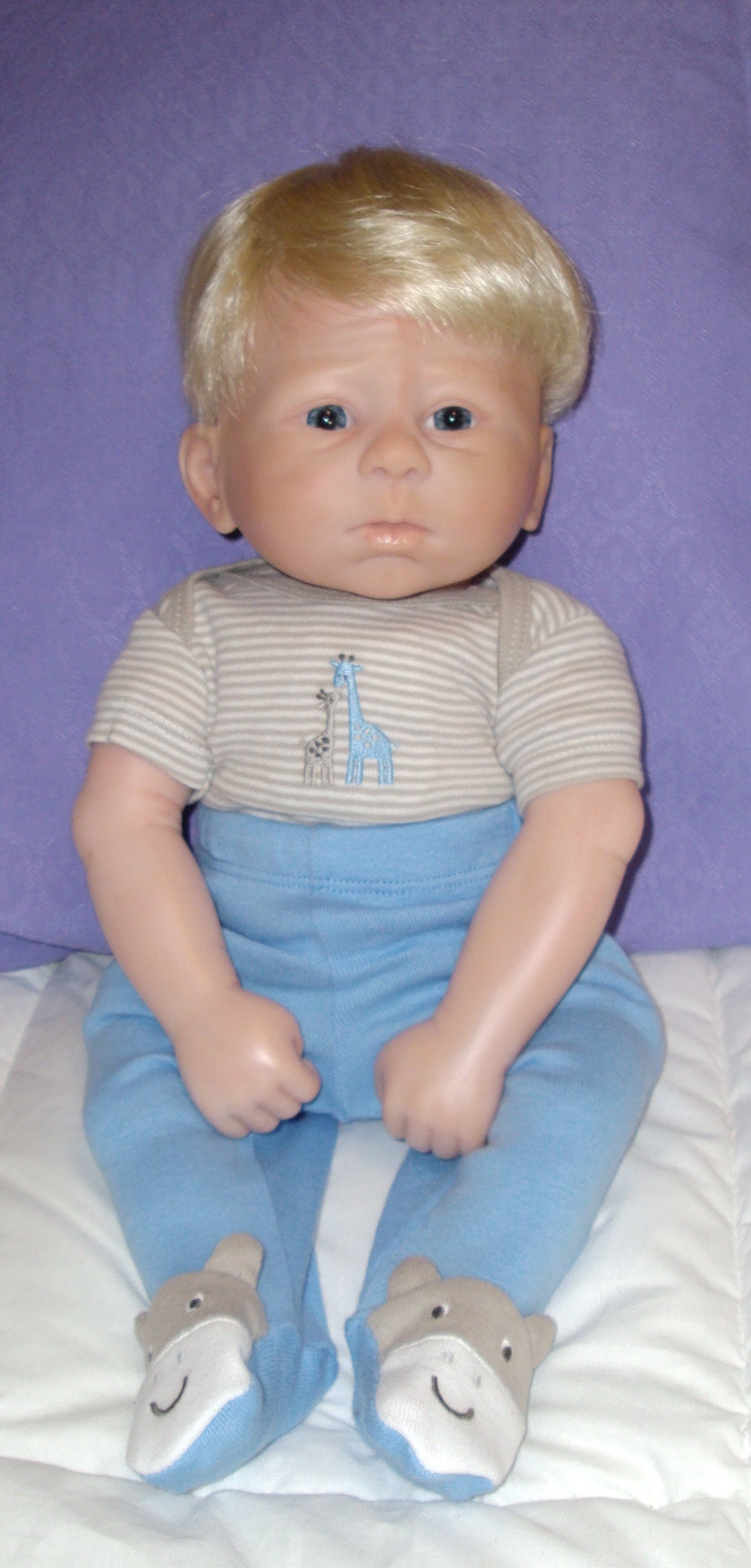 Baby David Lady Laura S Newborn Dolls