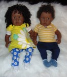Newborn Doll Jada and Jordan